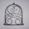 Hand forged speak easy grate.